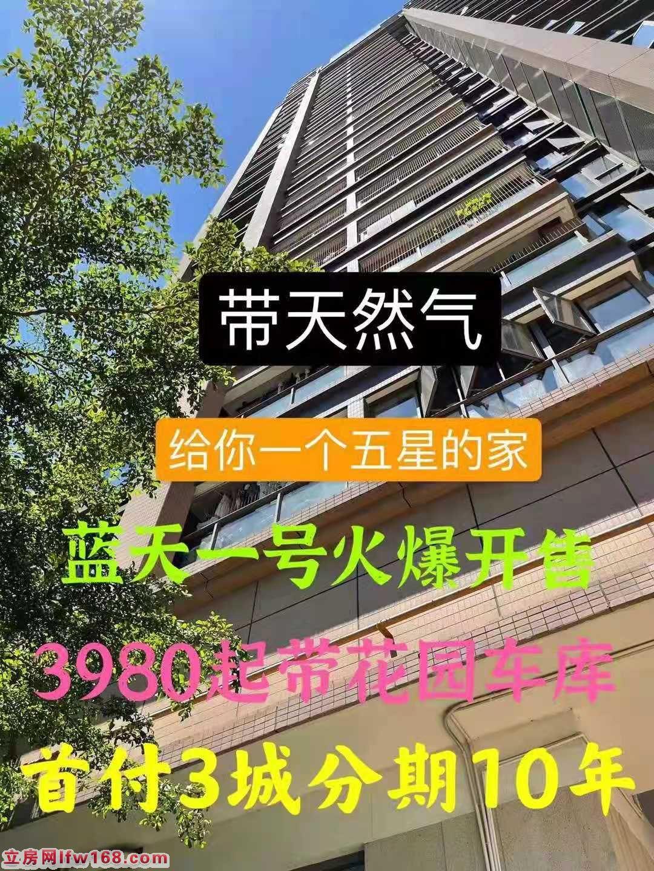 长安沙头小产权房《蓝天1号》三房90平,首付12万,分期10年